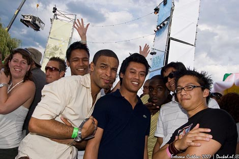 Extrema Outdoor 2007 - Part Of Our Group - Renzo / Donny / Daan / Euchemar / Marc / Andy