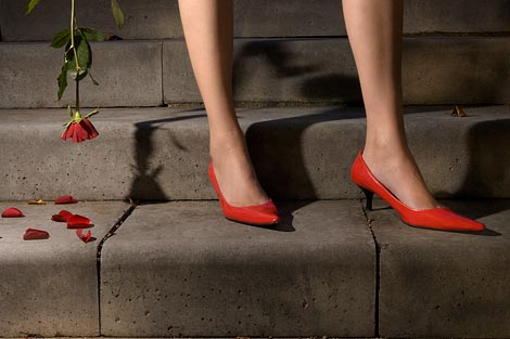 Ducked.nl - Guy Bourdin Shoot