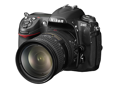 Nikon D300 Isometric View With Nikkor 18-200mm VR