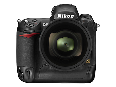 Nikon D300 Front View With Nikkor 14-24mm AFS