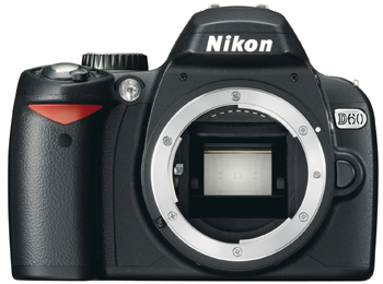 Ducked.nl - Nikon D60 Front View