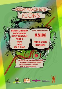 Icons Flyer Back