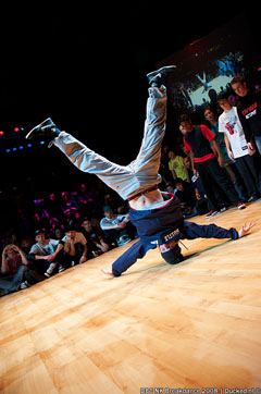 DBC NK Breakdance 14-12-2008 - Menno Headspin (Hustle Kidz)