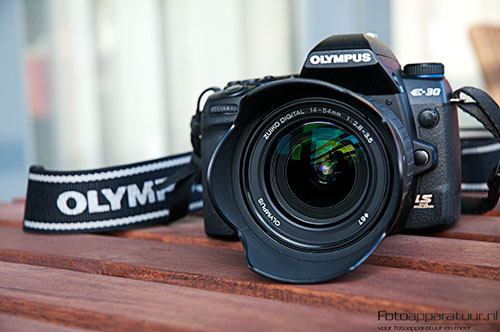 Olympus E-30 Front View