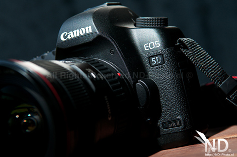 Canon EOS 5D Mark II front view 2